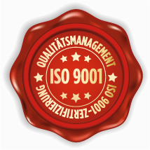 ISO 9001 QM-Siegel